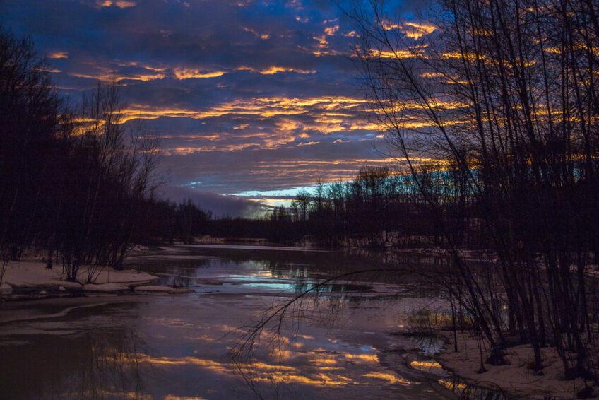 Ciels d'hiver